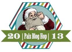 2013 Pals December Hop Badge