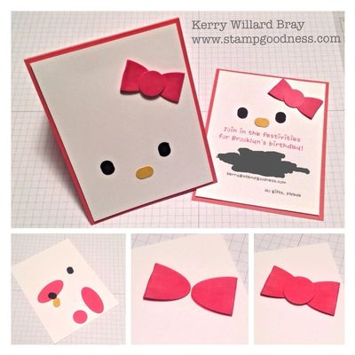 Stampin' Up! and Hello Kitty