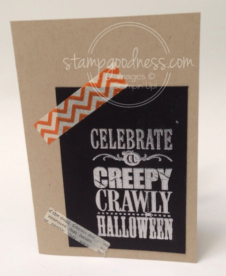 Stampin' Up! Halloween Bash