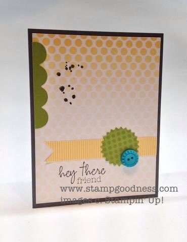 Stampin Up Paper Pumpkin Welcome Kit