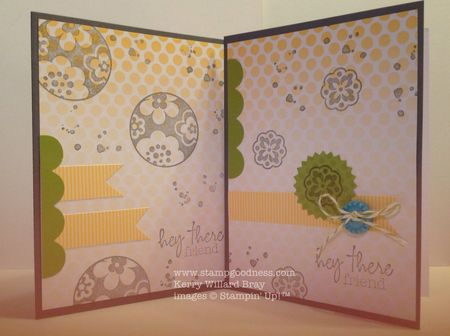 Stampin Up Paper Pumpkin Welcome Kit Circle Circus