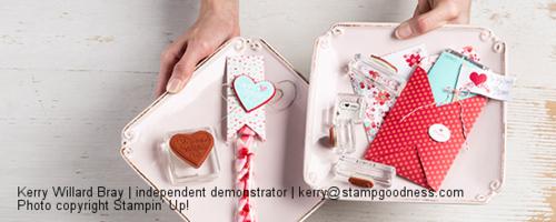 Stampin Up Valentines 2013
