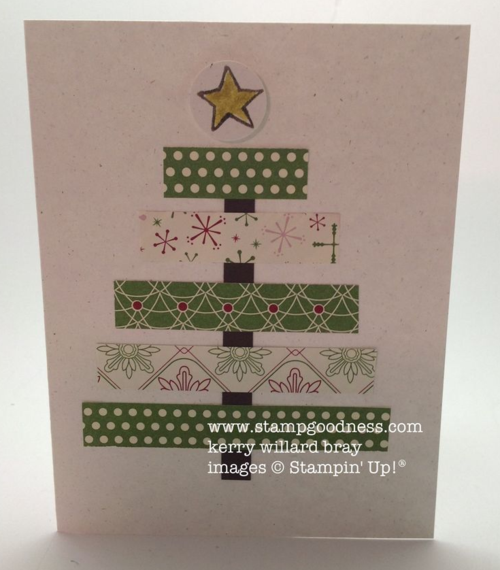 Be of Good Cheer Christmas Tree Card