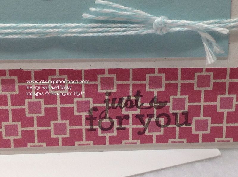 Hearts a Flutter More Amore Just for You Pop-Up Posies Stampin Up