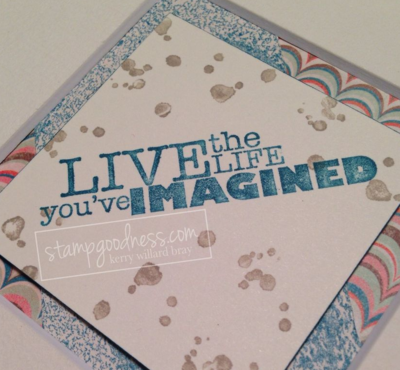 Live the Life Stampin' Up!