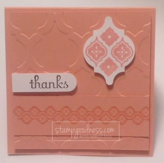 Crisp Cantaloupe Stampin' Up! In Color