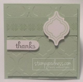 Pistachio Pudding Stampin' Up! In Color