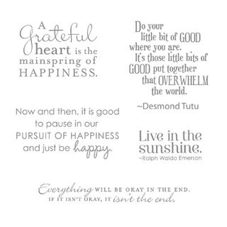 Pursuit of Happiness Stampin Up