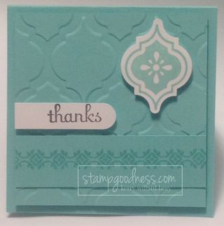 Coastal Cabana Stampin' Up! In Color