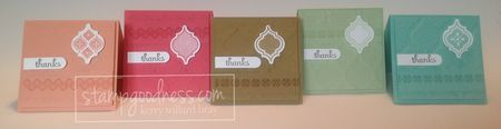 In Color Collection 2013-2015 Stampin' Up!