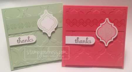Modern Mosaic Embossing Folder Stampin' Up!
