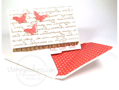 Stampin' Up! Pretty Print Bitty Butterfly