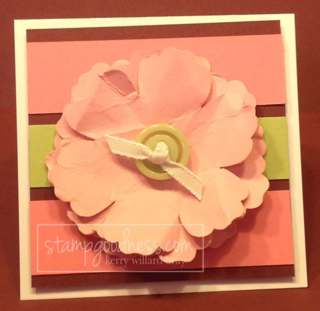 Blossom Punch Stampin' Up!