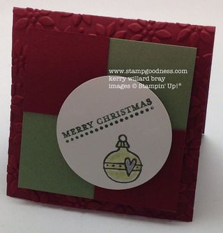 Teeny Tiny Wishes Every Little Bit Christmas Stampin Up