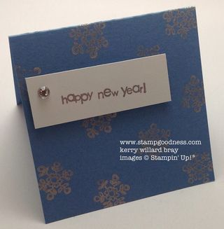 Teeny Tiny Wishes Every Little Bit Happy New Year Stampin Up