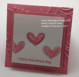 Teeny Tiny Wishes Every Little Bit Valentines Day Stampin Up