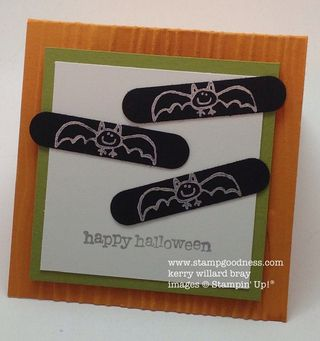Teeny Tiny Wishes Every Little Bit Halloween Stampin Up