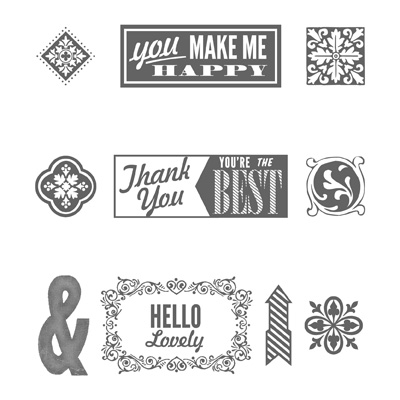 Stampin' Up! Hello Lovely stamp set