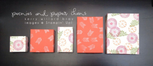 Stampin' Up! Petal Parade stamp set decrating paper boxes by Kerry Willard Bray www.peoniesandpaperchains.com 3