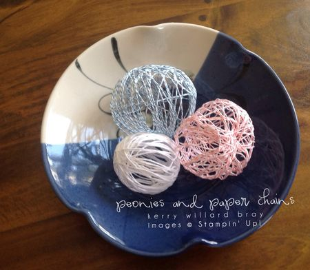Stampin' Up! Baker's Twine String Balls by Kerry Willard Bray www.peoniesandpaperchains.com 3