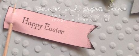 Stampin' Up! Baby We've Grown stamp set Framed Easter Bunny Art by Kerry Willard Bray www.peoniesandpaperchains.com 3