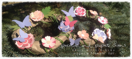 Fairy Crowns featuring Stampin' Up! Fun Flowers Bigz L die made by Kerry Willard Bray www.peoniesandpaperchains.com 2