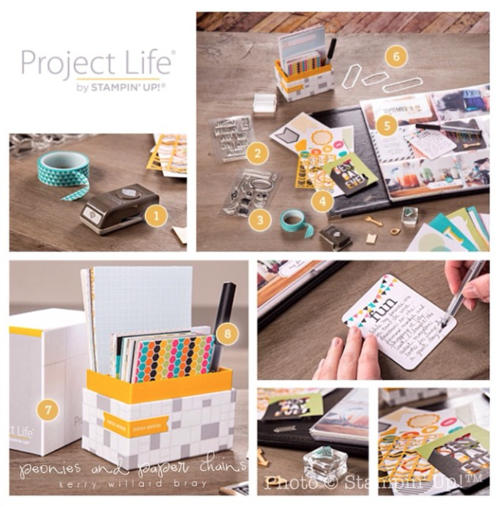 Project Life by Stampin' Up! - Kerry Willard Bray www.peoniesandpaperchains.com