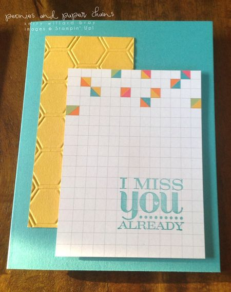 Stampin' Up! Project Life #PLxSU cards by Kerry Willard Bray www.peoniesandpaperchains.com img3