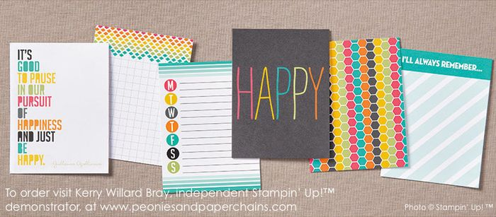 Project Life by Stampin' Up! #PLxSU Everday Adventure Cards