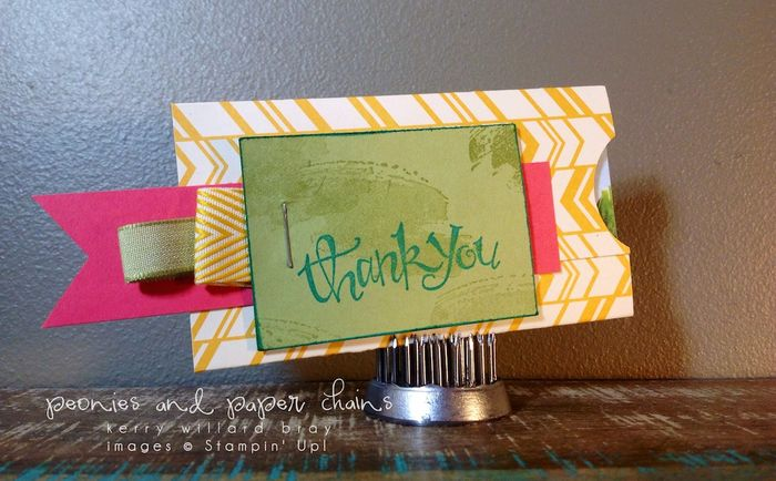 Stampin' Up! Project Life #PLxSU gift card holder by Kerry Willard Bray www.peoniesandpaperchains.com img1