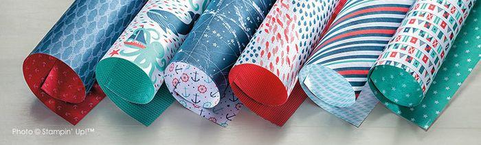 Stampin' Up! Maritime Designer Series Paper
