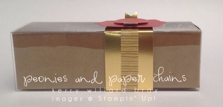 Chalk Talk stamp set, Washi tape, gold, Kerry Willard Bray, Peonies and Paper Chains blog, Stampin' Up!