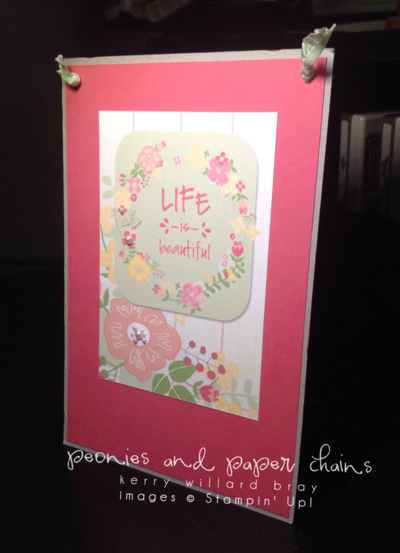 Stampin' Up! Blossoms Abound MDS sign Kerry Willard Bray www.peoniesandpaperchains