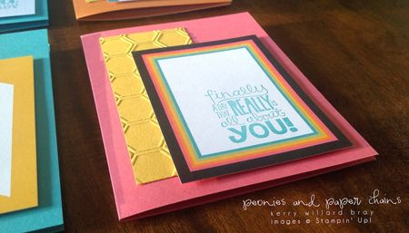 Stampin' Up! Project Life #PLxSU cards by Kerry Willard Bray www.peoniesandpaperchains.com img2
