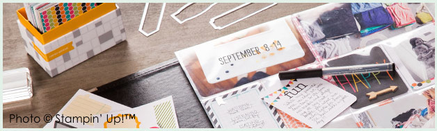 Project Life by Stampin' Up! #PLxSU main image www.peoniesandpaperchains.com