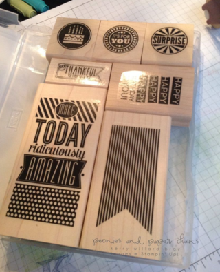 Stampin' Up! Amazing Birthday wooden set in the case Kerry Willard Bray www.peoniesandpaperchains.com