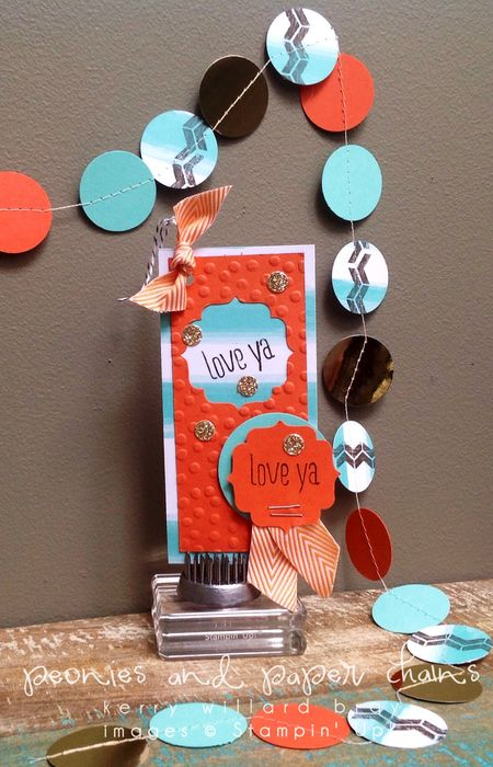 Stampin' Up! Paper Pumpkin March 2014 creations by Kerry Willard Bray www.peoniesandpaperchains.com set 2-5