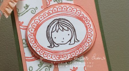 Stampin' Up! Sweetie Pie stamp set - gift tag by Kerry Willard Bray www.peoniesandpaperchains.com