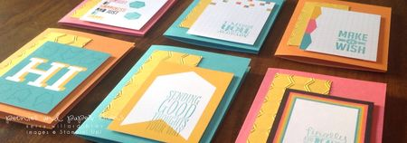 Stampin' Up! Project Life #PLxSU cards by Kerry Willard Bray www.peoniesandpaperchains.com img1