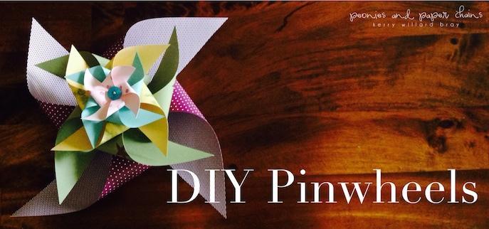 DIY Pinwheels using Stampin' Up! by Kerry Willard Bray www.peoniesandpaperchains.com 4