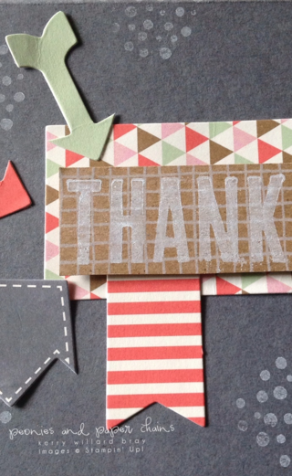 Stampin' Up! Hip Hip Hooray and Dude You're Welcome card by Kerry Willard Bray www.peoniesandpaperchains.com 3
