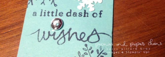 Stampin' Up! Endless Wishes gift tag by Kerry Willard Bray www.peoniesandpaperchains.com 3