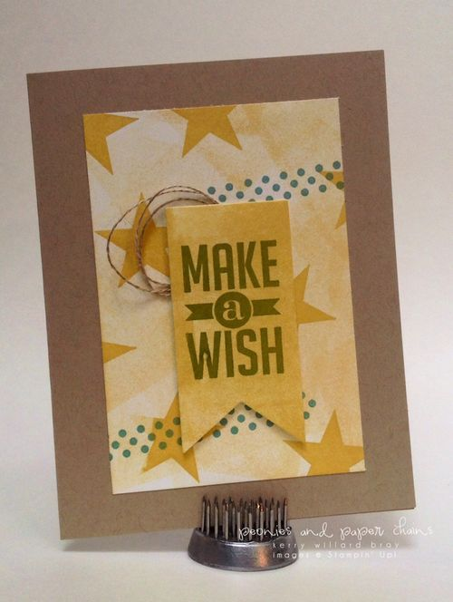 Stampin' Up! Perfect Pennants card by Kerry Willard Bray www.kerrywillardbray.com 2