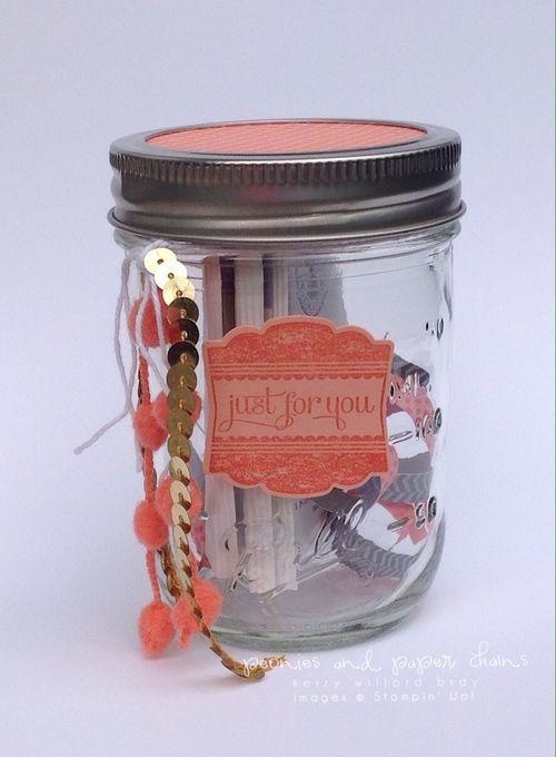Stampin' Up! Label Love gift jars by Kerry Willard Bray 8