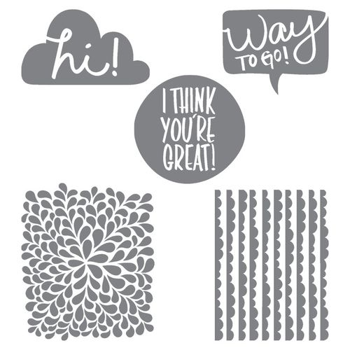 Stampin' Up! I Think You're Great stamp set images c. Stampin' Up!