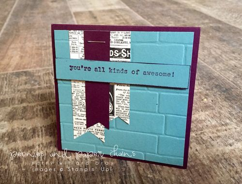 Stampin' Up! Words of Truth awesome card by Kerry Willard Bray www.kerrywillardbray.com