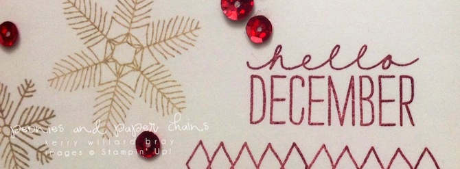 Stampin' Up! PLxSU Hello December Project Life cards by Kerry Willard Bray www.kerrywillardbray.com