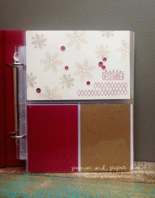Stampin' Up! PLxSU Hello December Project Life cards by Kerry Willard Bray www.kerrywillardbray.com 2