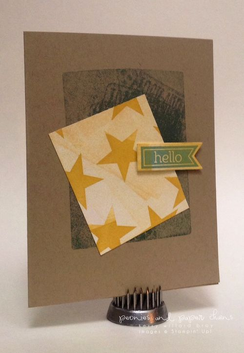 Stampin' Up! Perfect Pennants card by Kerry Willard Bray www.kerrywillardbray.com 3