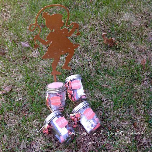 Stampin' Up! Label Love gift jars by Kerry Willard Bray 7